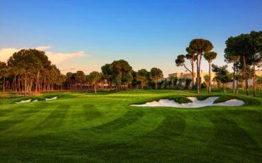Carya Golf Course and some bunkers