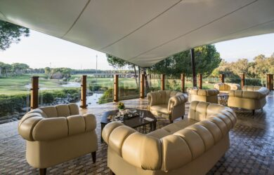 Montgomerie Golf Course Club House