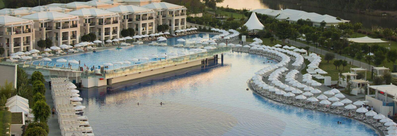 Titanic Deluxe Golf Belek Pool And River